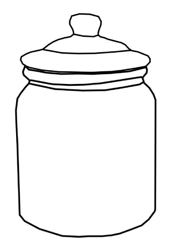 Jar clipart empty Empty Cookie Jar Download Clipart