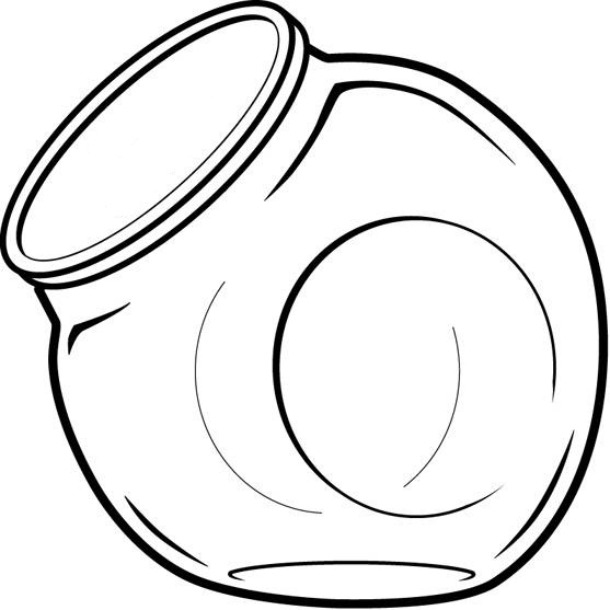 Jar clipart empty Clipart jar free Empty outline