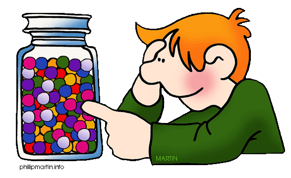 Jelly Bean clipart lolly jar With Jar JK/SK and Estimation