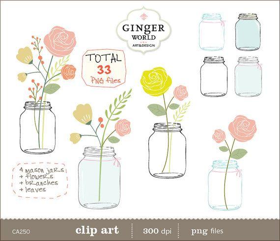 Jar clipart free mason In art jar mason are