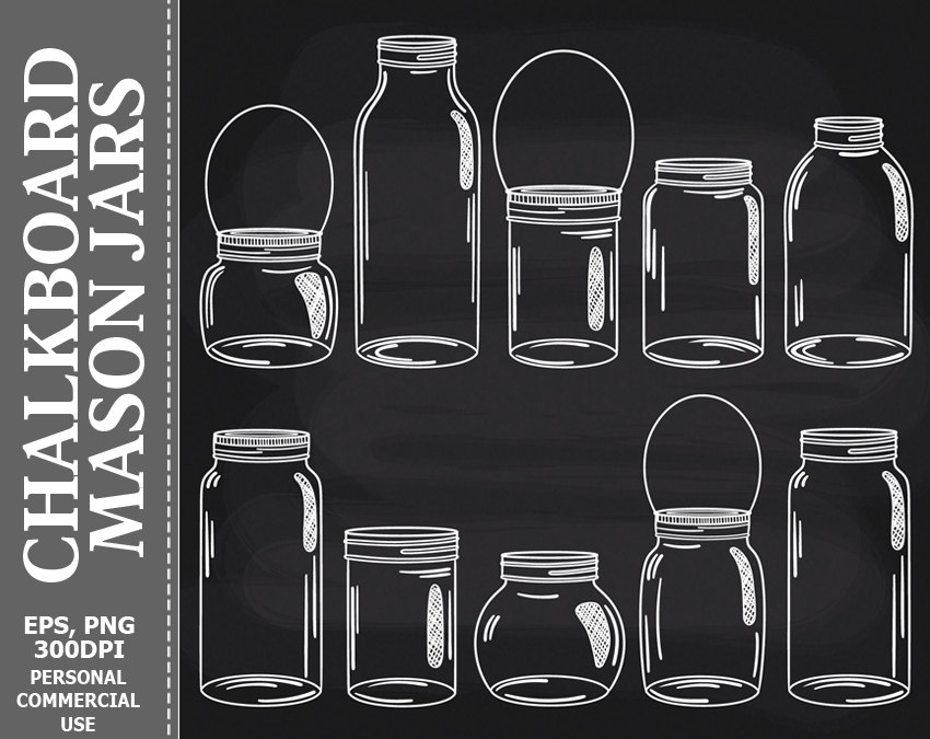 Jar clipart glass bottle This Jar is a Mason