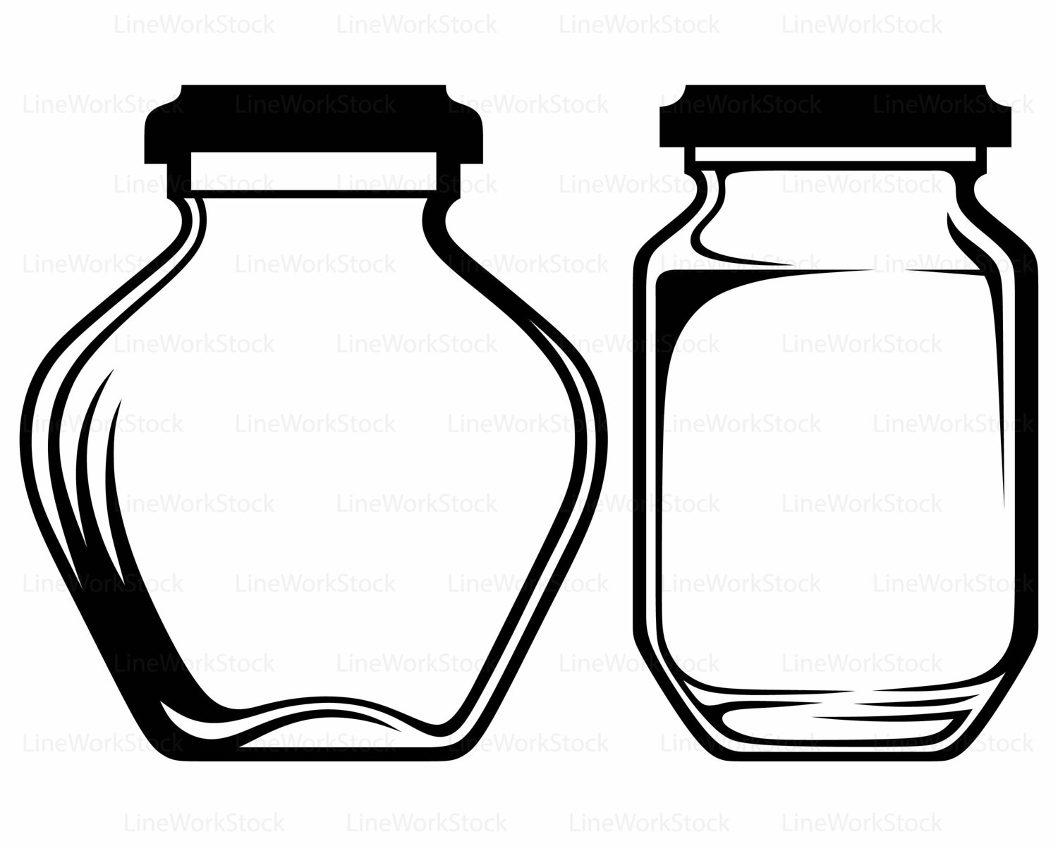 Jar clipart glass bottle This empty is a clipart