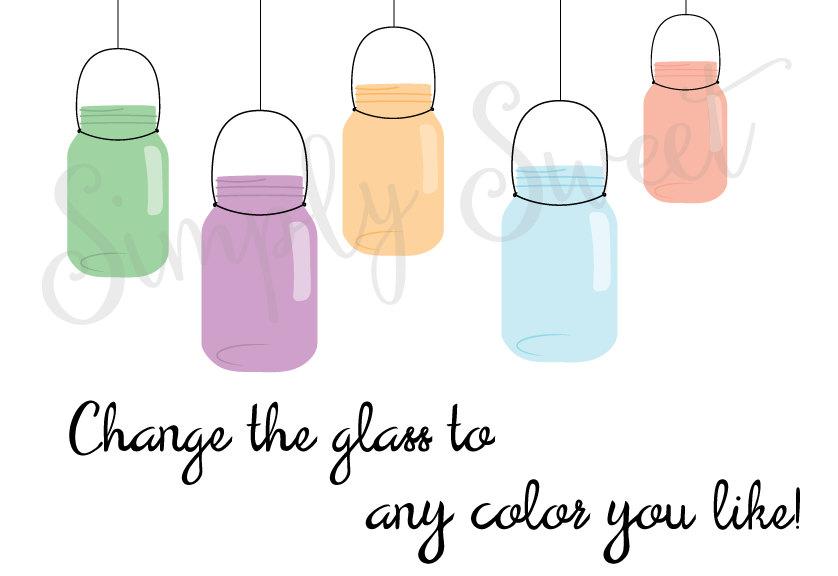 Mason Jar clipart glass jar Vectors Mason Art Preserve Mason