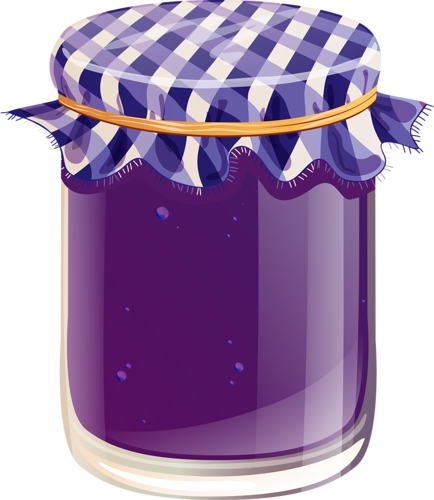 Jar clipart grape jelly For For Pinterest JellyFood decoupage