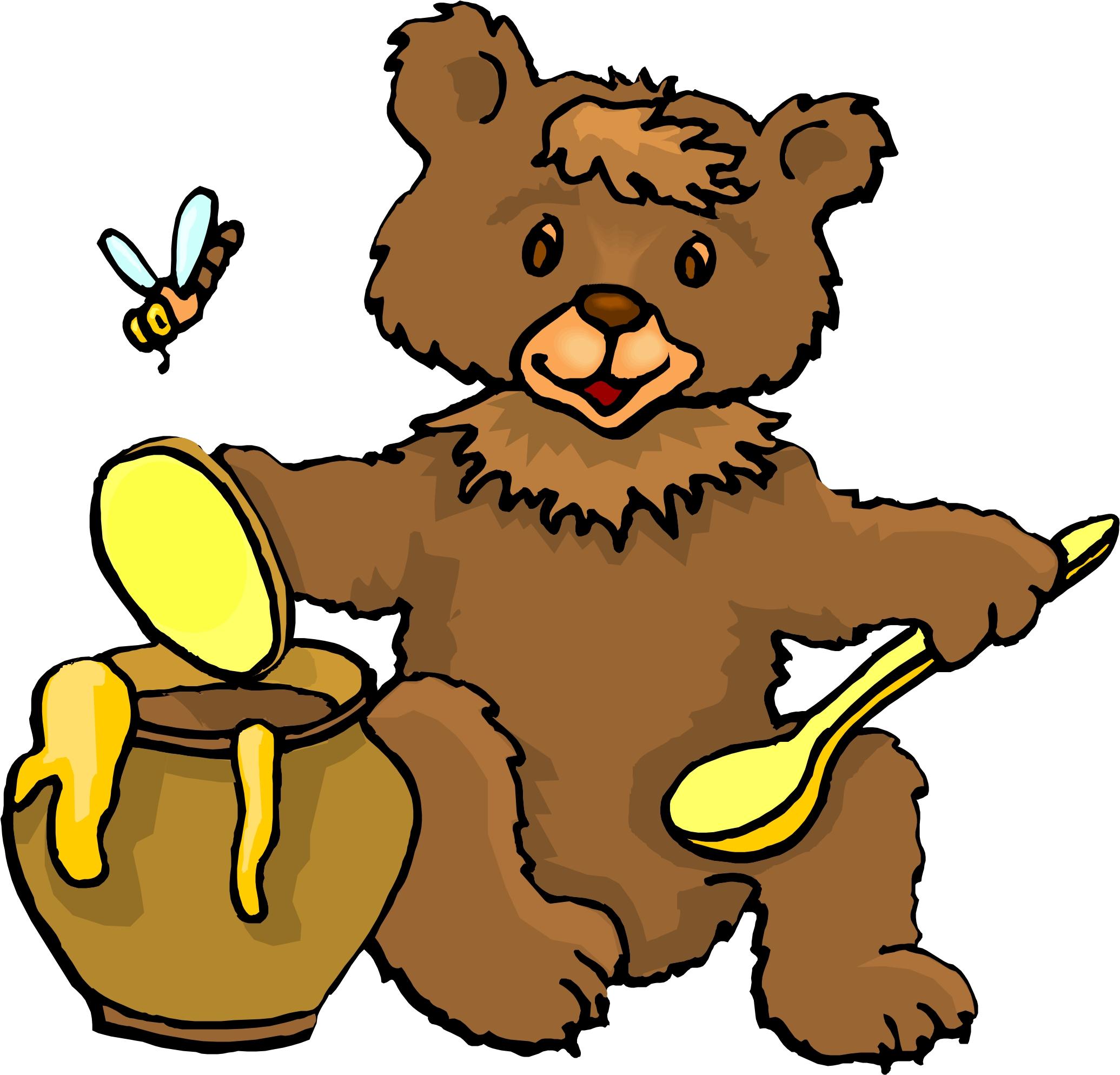 Brown Bear clipart 3 bears Jar Art Clipart The Cliparts