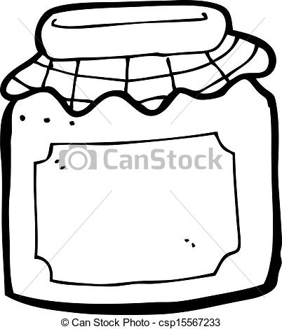Jar clipart icon  jam cartoon jar Vectors
