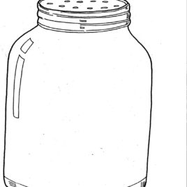 Jar clipart insect Coloring It's In Kid Images