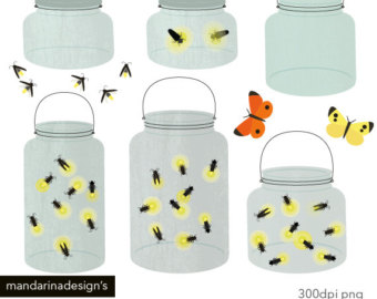 Jar clipart insect Light Firefly Jar Graphics bug
