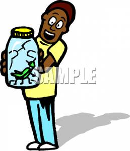 Jar clipart insect Jar In Boy Free