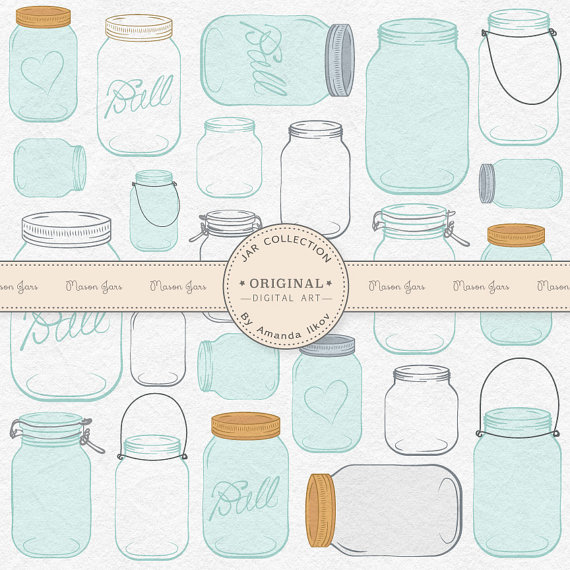 Jar clipart jam jar Art Jar Professional  Clipart