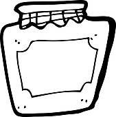 Jar clipart jam jar Jar jam Clip Jam Cartoon