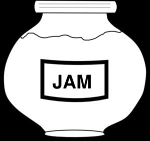 Peanut Butter clipart jam bottle Jar Outline vector at