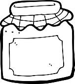Jar clipart jelly jar Clip jar Free cartoon Royalty