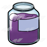 Jar clipart jelly jar Art Jar Jar Grape Jelly