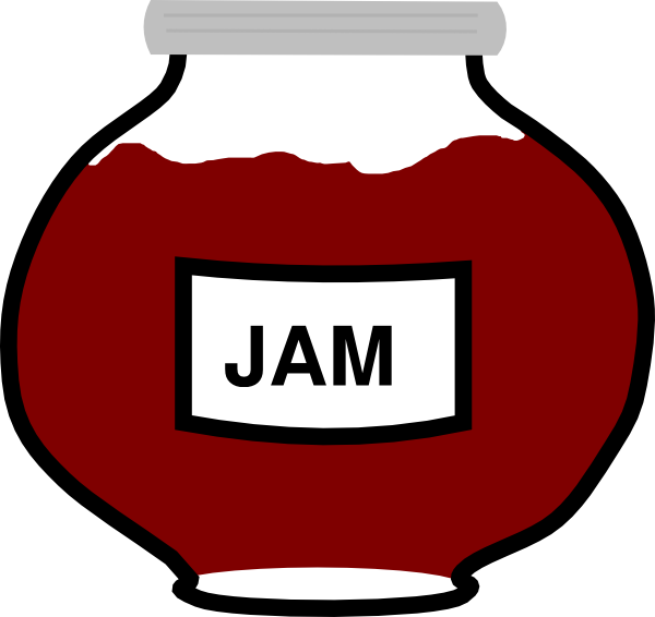 Jar clipart jelly jar Jar Clip – Jelly Art