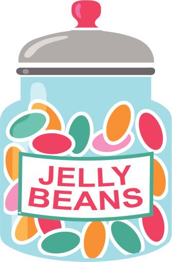 Bean clipart jelly bean jar 2 WikiClipArt clipart Jelly jar
