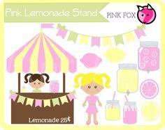 Jar clipart lemonade Stand  lemonade Art INSTANT