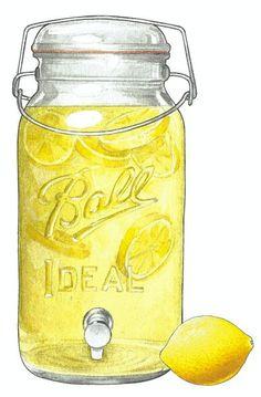 Jar clipart lemonade On more Melissa Find mason