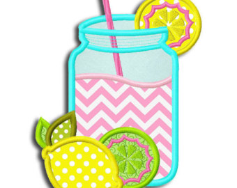 Jar clipart lemonade Design Embroidery Lemonade Lemonade jef