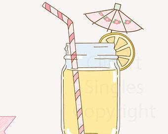 Jar clipart lemonade Mon  Le Mon Digital