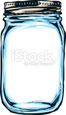 Jar clipart masson Drawn hand Fairy Lights