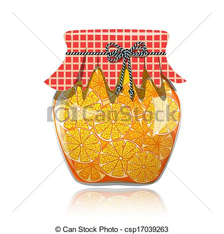 Jar clipart orange Of Clip Glass Art jam
