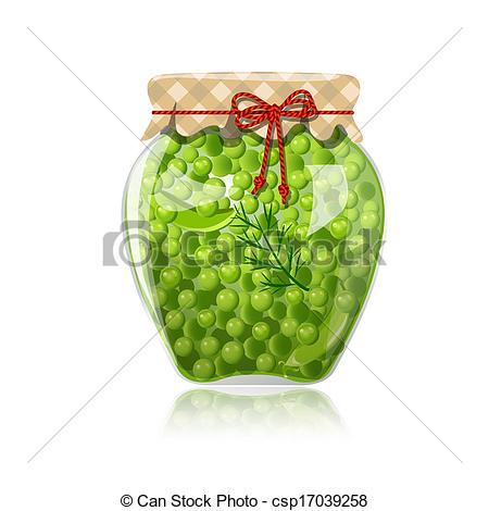 Jar clipart pea Clipart  peas jar of