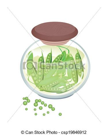 Jar clipart pea Jar Vegetable in A A