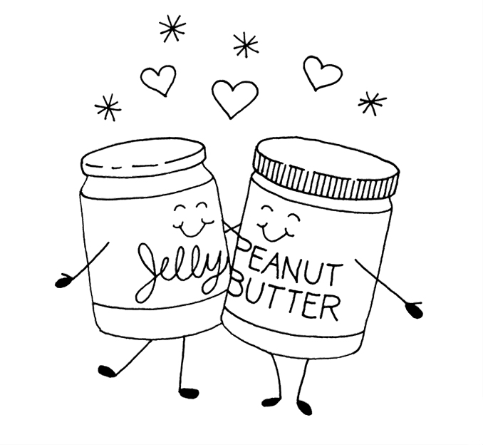 Jar clipart peanut butter and jelly Clipart Peanut peanut Sandwich Clipart