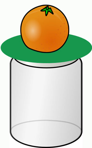 Jar clipart science Projects orange for a fair