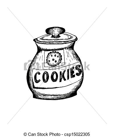 Jar clipart sketch 190 images Stock and sketch