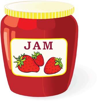 Jar clipart strawberry jam Cliparts Jar Clipart Jelly Jam