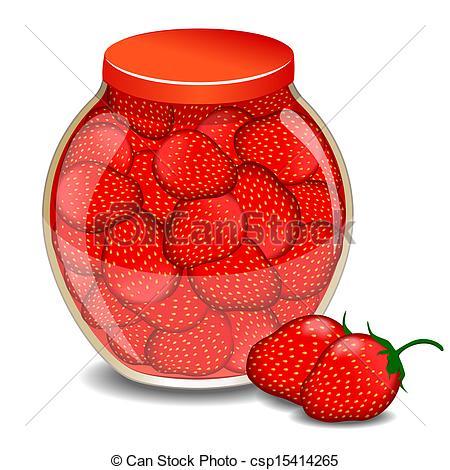 Jam clipart stawberry Jam of a A jam
