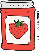 Jam clipart stawberry Of fruit  cartoon strawberry