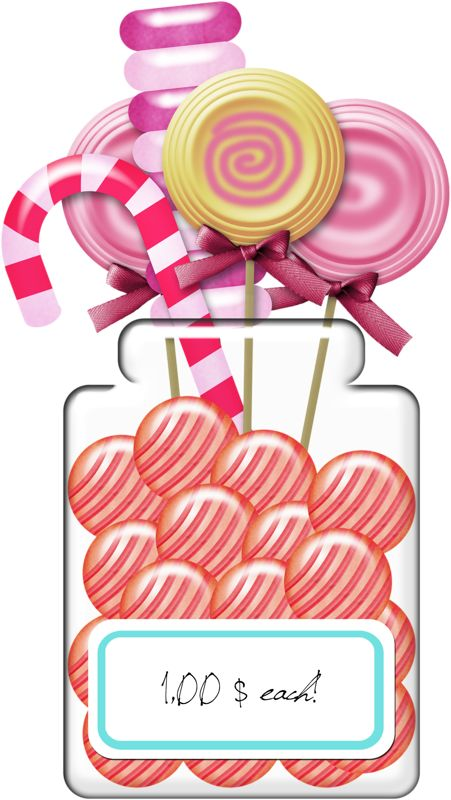 Lollipop clipart pink candy ❤ Clipart Cute Pinterest Cute