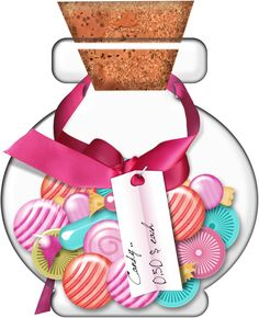 Candy Bar clipart jar sweet Food E  CUPCAKE Gumball