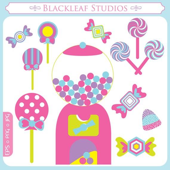 Machine clipart candy Lollipop sticks suckers clipart shoppe