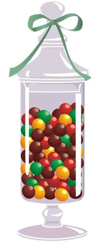 Candy Bar clipart jar sweet Confection sweets chocolates Candy Art