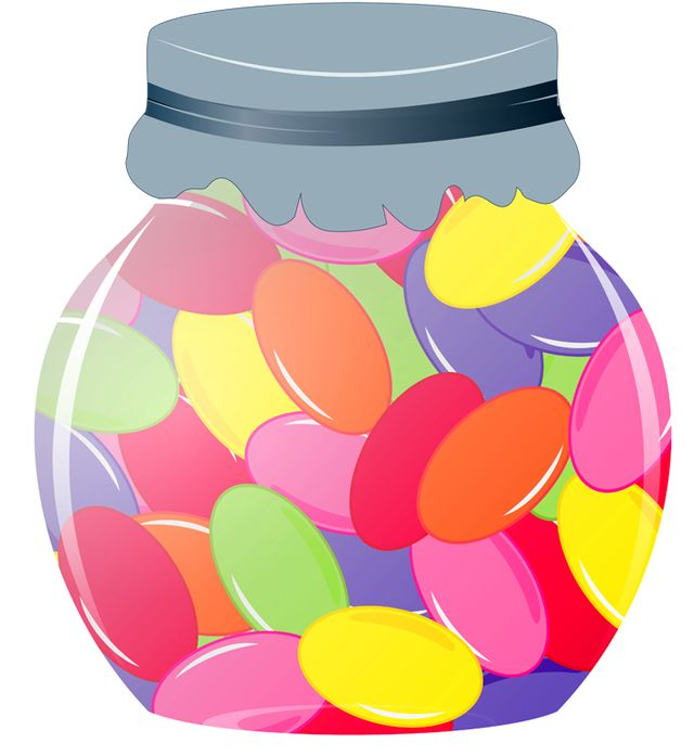 Bean clipart colorful Jar 13101 Download Clipart Jelly