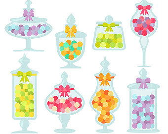 Candy Bar clipart jar sweet Scrapbooking Clip clip Candy Etsy