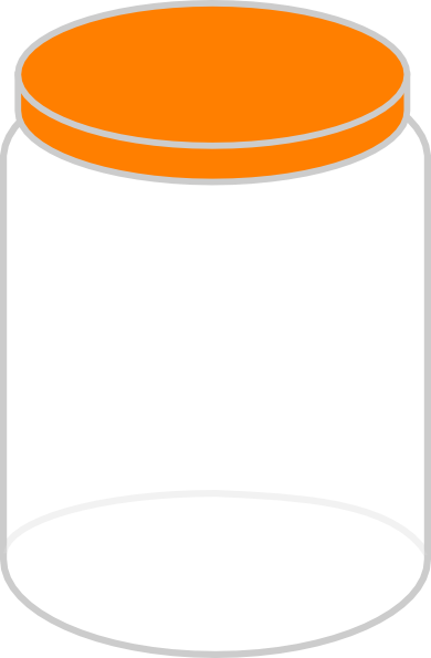 Bean clipart jelly bean jar Plain Clker at com Clip