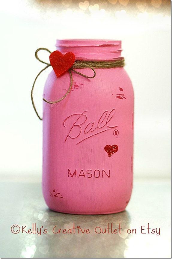 Jar clipart valentine Valentine Love Mason Valentine jar