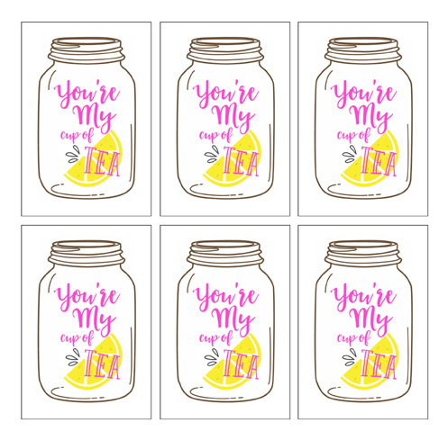 Jar clipart valentine Sweet The your tea gift