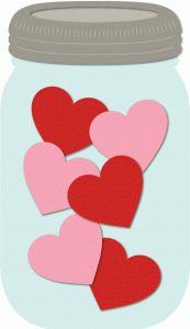Jar clipart valentine Pinterest Find best Valentine and
