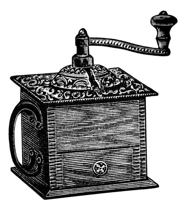 Jar clipart vintage coffee Clipart grinder 73 Find on