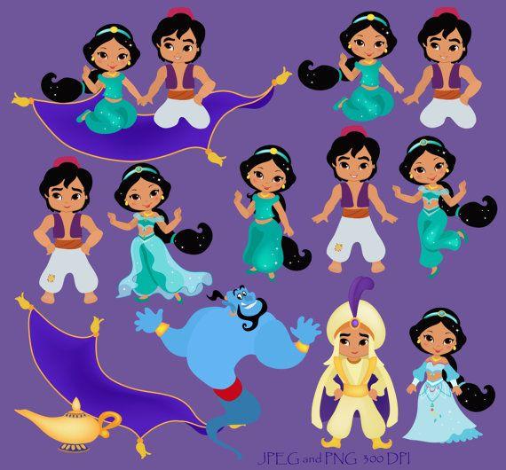 Jasmine clipart purple Digital Princess SandyDigitalArt 00 Printables