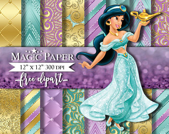 Jasmine clipart purple SALE OFF Scrapbook Jasmine 50%