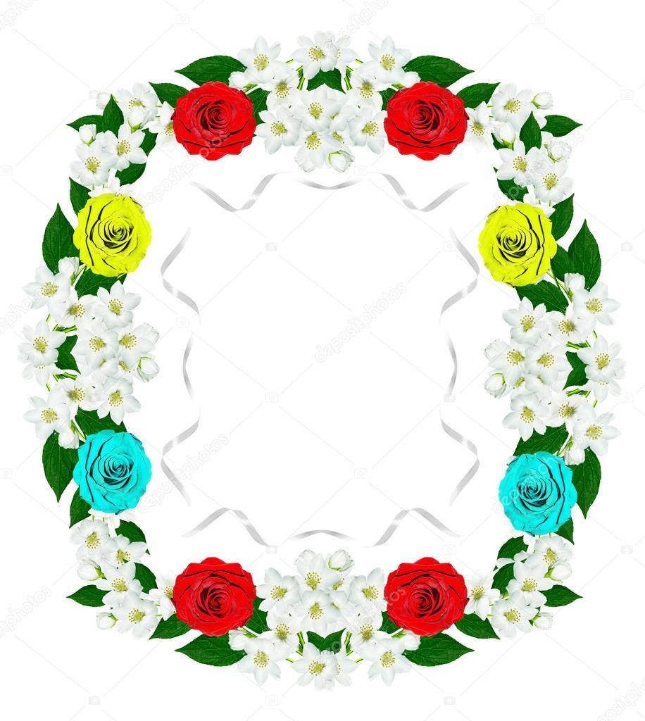 Jasmine clipart rose Stock alenalihacheva © — of