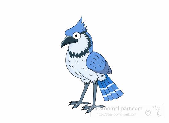 Jay clipart Winter 116 blue bird bird