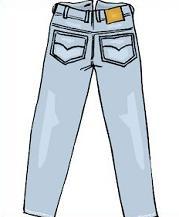 Denim clipart Jeans Clipart Jeans Free